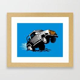 4x4 trophy Framed Art Print