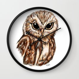 Wise 'Ole Owl Wall Clock