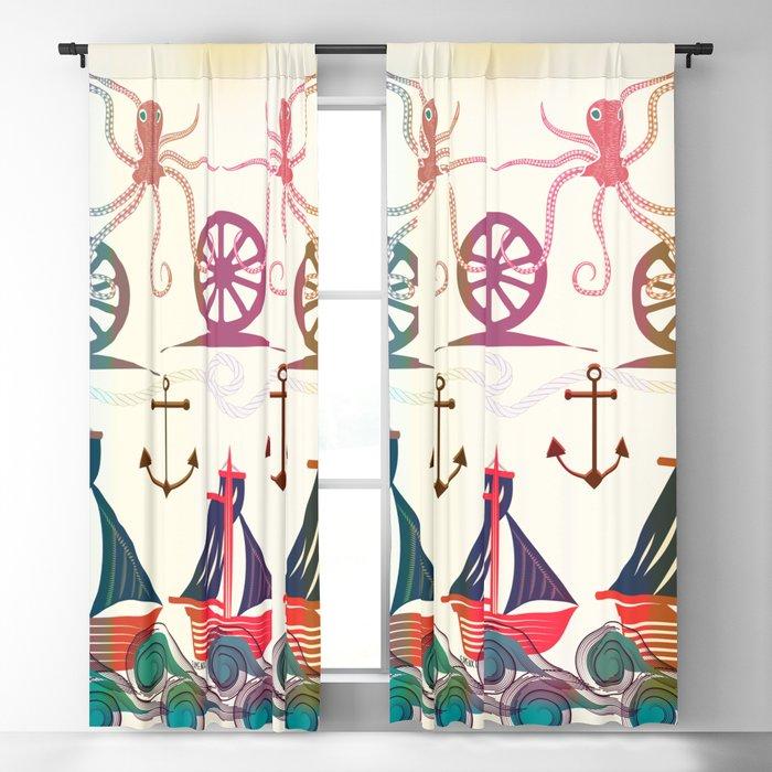 Sailor Blackout Curtain