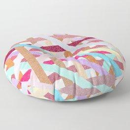 Structural Weaving Lines Floor Pillow