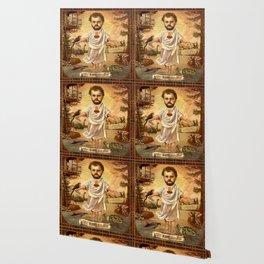 Sweet Bearded Baby Jesus Wallpaper