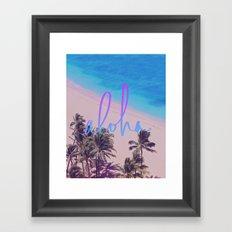 Aloha Hawaii Framed Art Print