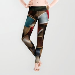 Cotton Bobbins Leggings