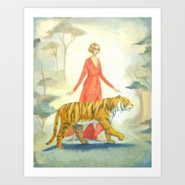 The Tiger's Bride Art Print