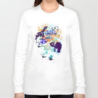 chaos Long Sleeve T-shirts featuring Chaos by Caitlin Victoria Parker