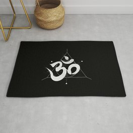 Om   The Sound of Universe Rug