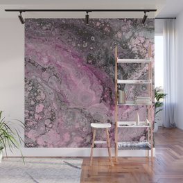 """""""Epiphany in Pink"""" by Angelique G. Wall Mural"""