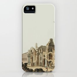 from Views in the Ottoman Dominions, in Europe, in Asia, and some of the Mediterranean islands (1810 iPhone Case
