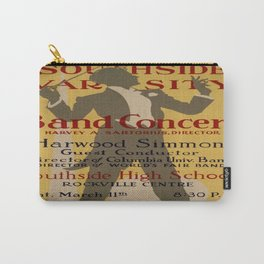 Vintage poster - Southside Varsity Band Concert Carry-All Pouch