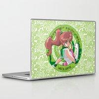 sailor jupiter Laptop & iPad Skins featuring Sailor Jupiter - Crystal Intro by Yue Graphic Design