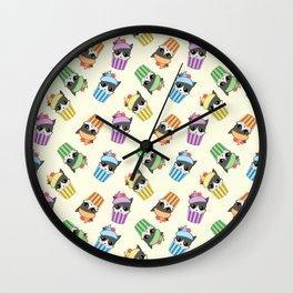 cupcake kitty Wall Clock