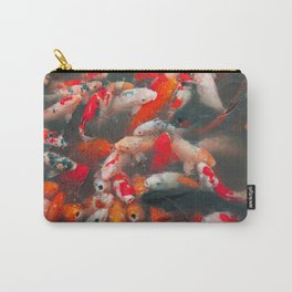 Fortune From The Koi Pond Carry-All Pouch