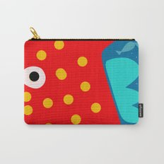 Red Fish illustration for kids Carry-All Pouch