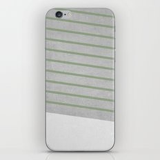 Concrete & Stripes II iPhone & iPod Skin