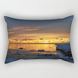 Sunset in Muskegon, Michigan Rectangular Pillow