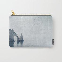 View of Chalk Cliffs Étretat-Normandy-France Carry-All Pouch