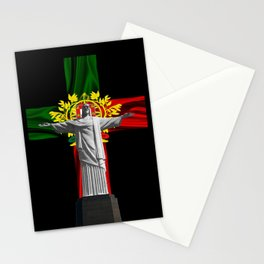 Portuguese cross Stationery Cards