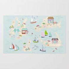 Summer On The Islands Rug