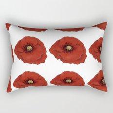 I Adore Poppies Rectangular Pillow