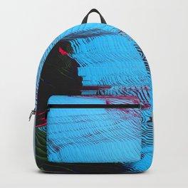 MEMORY MOSH - Glitch Art Print Backpack