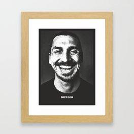 A King Framed Art Print