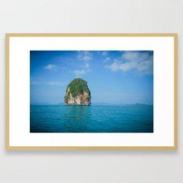 Castaway in Thailand Framed Art Print