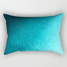Modern abstract navy blue teal gradient Rectangular Pillow