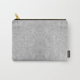 Grey striped parchment texture abstract Carry-All Pouch
