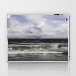 Rain on the Sea Laptop & iPad Skin