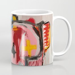 """The speed of life"" Street art graffiti and art brut Coffee Mug"