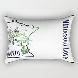 Northland Love Rectangular Pillow