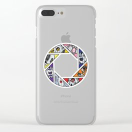 10th Anniversary (Portal 1 version) Clear iPhone Case