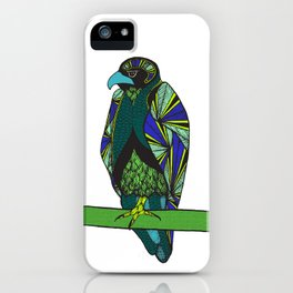 Abstract Falcon iPhone Case