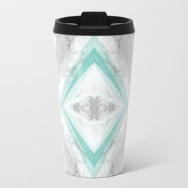 marble rhombus Travel Mug