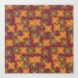 Autumn geometric 3 Canvas Print