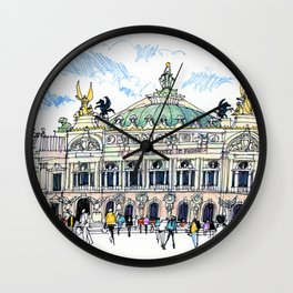 Palais Garnier, Paris Wall Clock