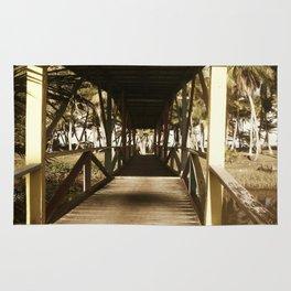 Old Wooden Bridge Rug
