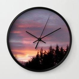Photo, Clare Glens, Ireland Wall Clock