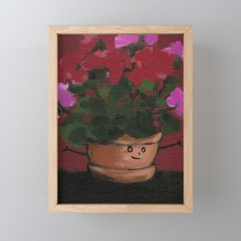 just look at me Framed Mini Art Print