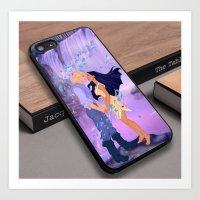 Pocahontas Princess Strongs Jungle Custom iPhone 6s Case Art Print
