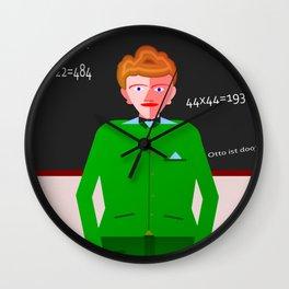 Model pupil Wall Clock
