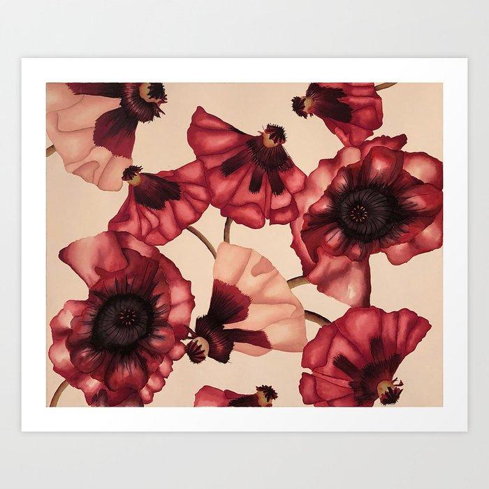 Poppies Kunstdrucke