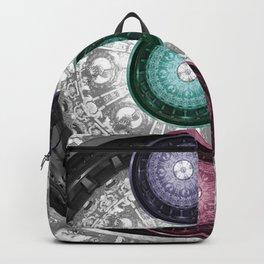 Flagler College Ceiling Transposed on Itself Backpack