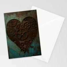 Clockwork heart Stationery Cards