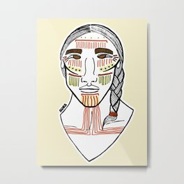 Cochimí Metal Print