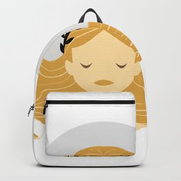 Virgo Zodiac Sign Symbol: The Maiden Backpack
