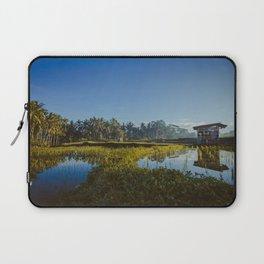 Sunrise over rice fields in Ubud, Bali. Laptop Sleeve