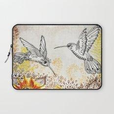 Hummingbird Garden Laptop Sleeve