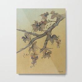 Spade's Grapevine Metal Print
