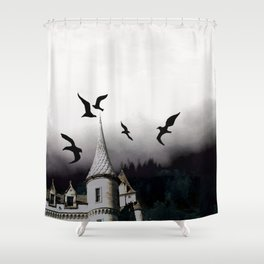 The house of Nevermore Shower Curtain
